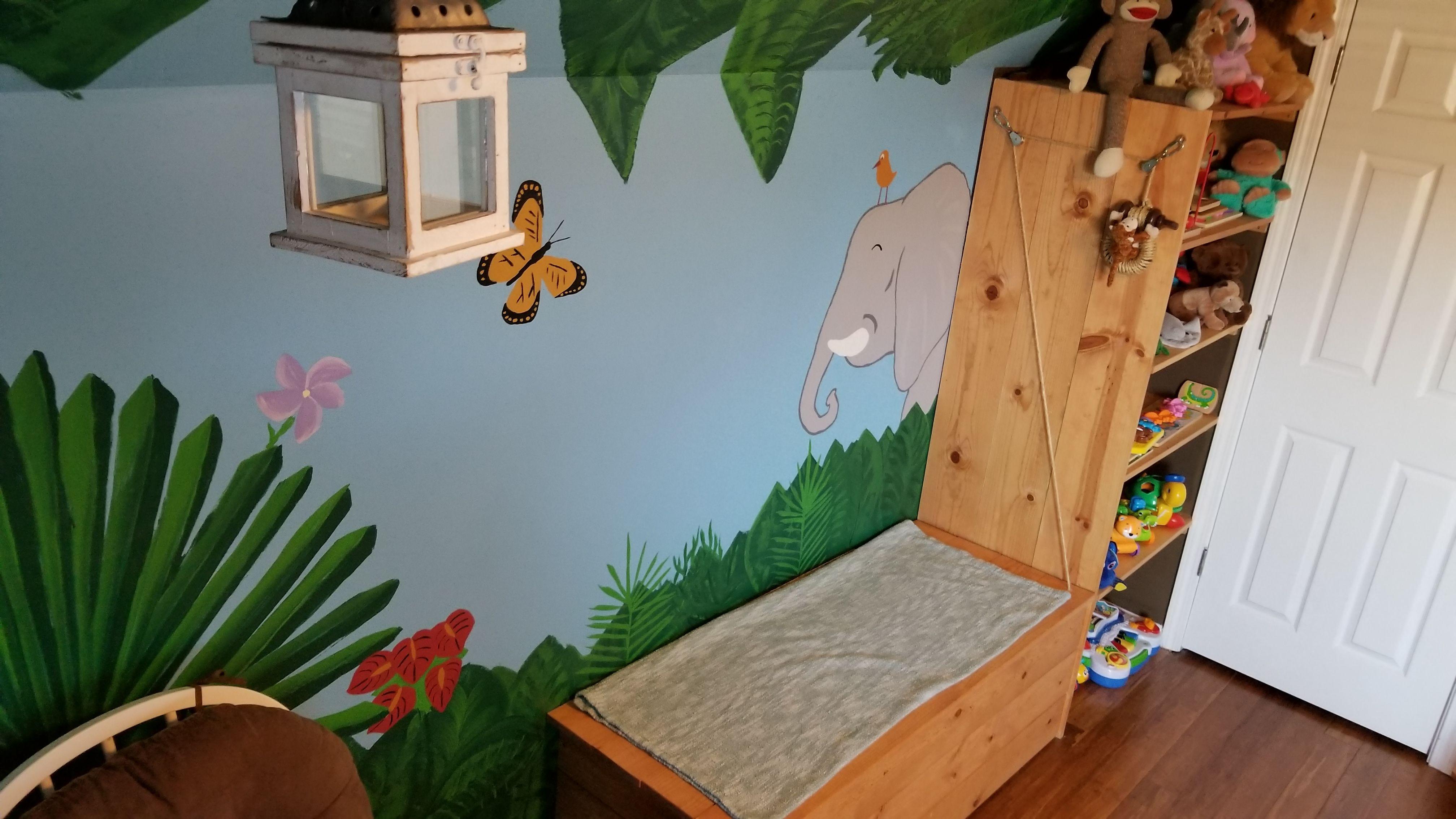Pin by Creche Creative Nursery Design on Jungle Nursery