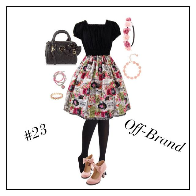 """""""Lolita Fashion 50  v2: Off-brand"""" by snowshi ❤ liked on Polyvore featuring Charlotte Russe, Betsey Johnson, GUESS, Ted Baker and Accessorize"""