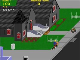 Paperboy arcade (haunted house)
