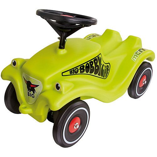 BIG CLASSIC Bobby Car Racing, schwarz-grün schwarz/grün
