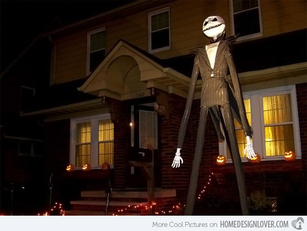 15 spooky halloween home decorations - Scary Halloween Yard Decorations