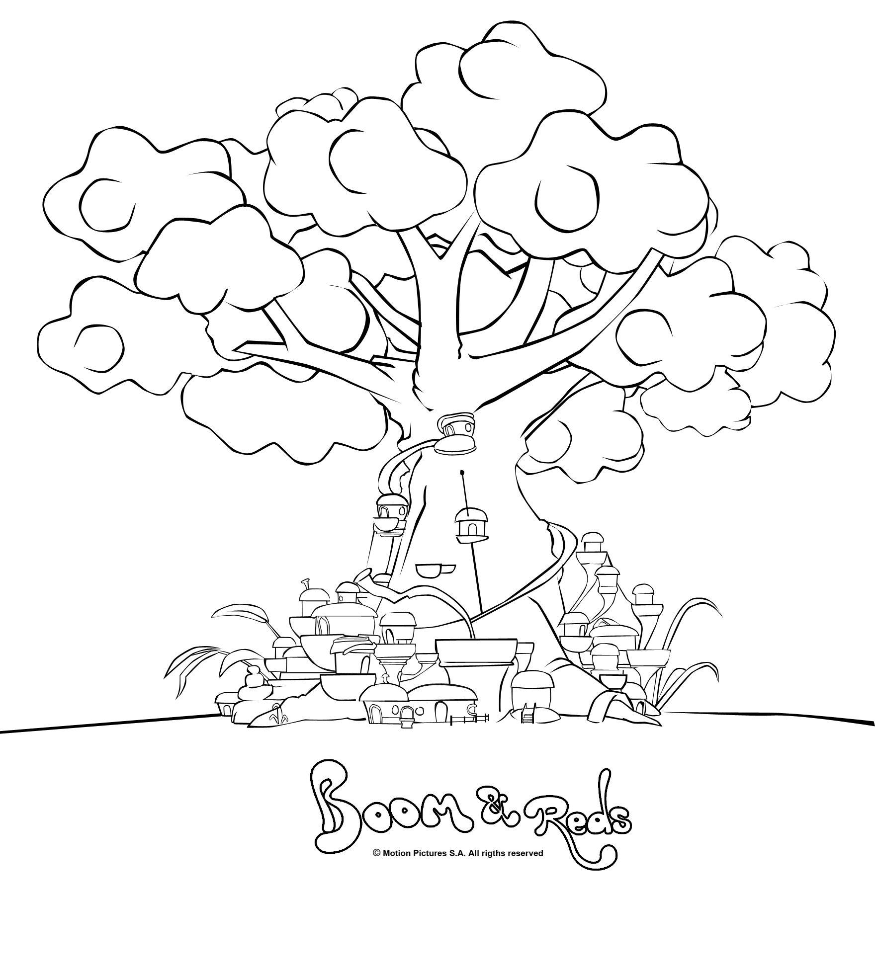 Pintas Boom & Reds, descargar dibujos colorear --- Boom Reds cartoon ...