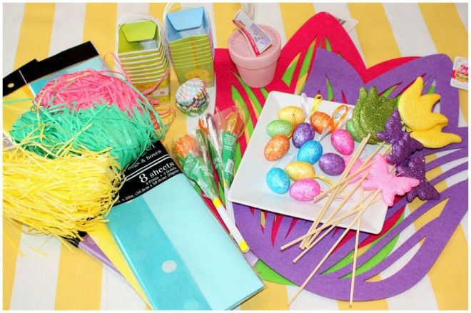 Creative Dollar Tree Easter Craft Ideas By Pizzazzerie -- see more at LuxeFinds.com