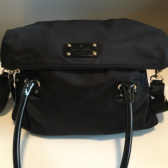 Kate Spade Nylon Handbag Excellent condition. Minor signs of wear on the bottom. kate spade Bags Crossbody Bags