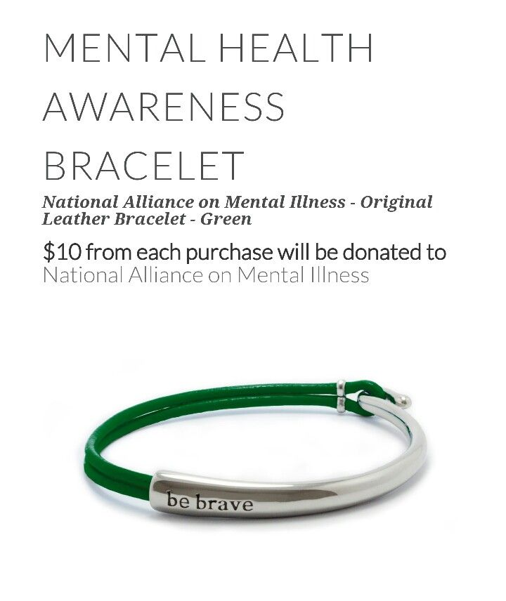 Mental Health Awareness Bracelet More Anxiety Depression