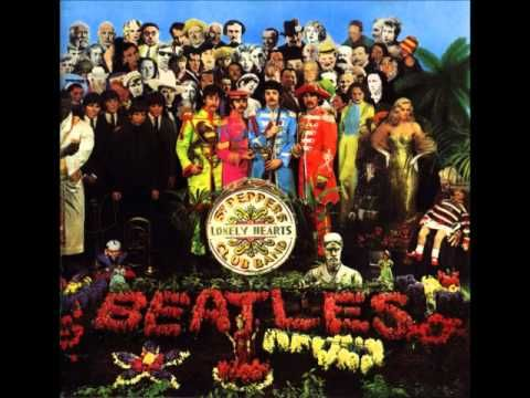 The Beatles Sgt Peppers Lonely Hearts Club Band Full Album Remastered Album Cover Art Beatles Album Covers Sgt Peppers Lonely Hearts Club Band