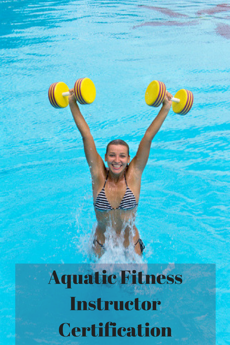 Aquatic fitness instructor certification 1betcityfo Image collections