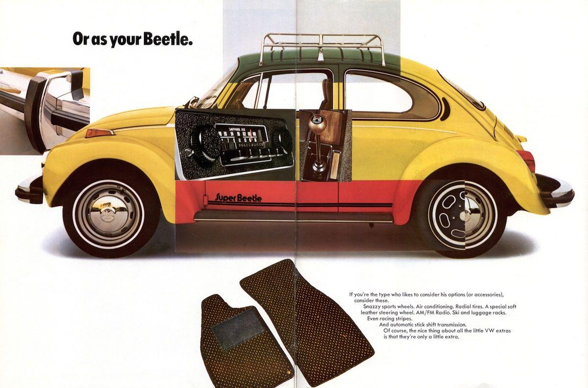 Volkswagen 1974 Beetle Sales Brochure Volkswagen Beetle Classic Cars