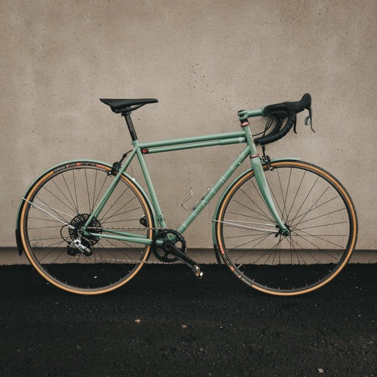 Nbd A Dream Build Feather Cycles Steel All Weather Road Bike
