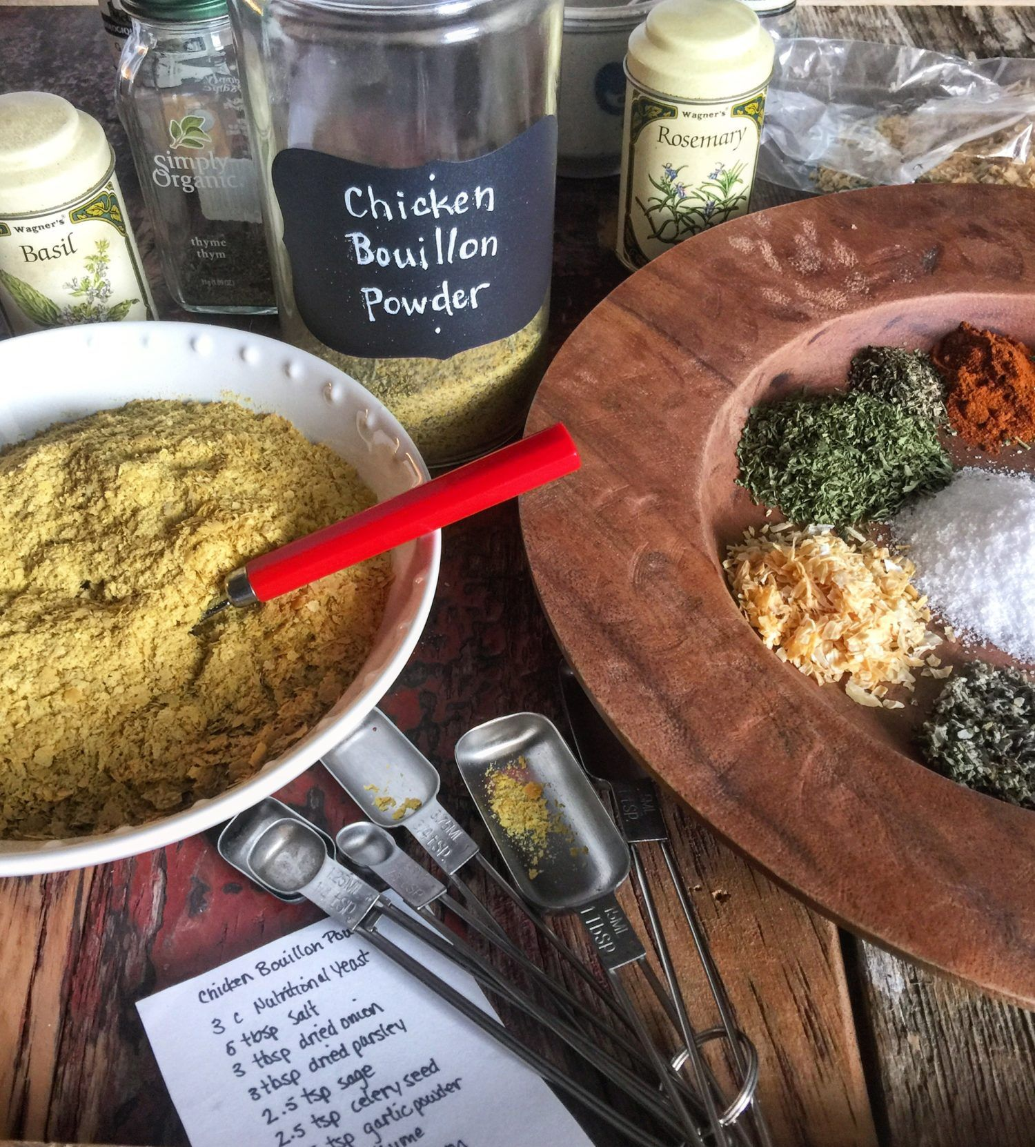Faux chicken bouillon powder recipe food food
