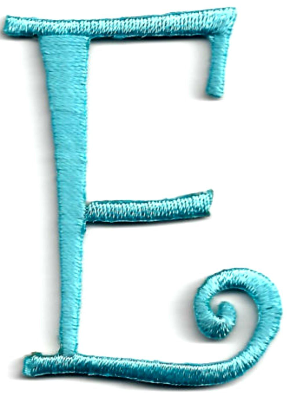 Single count custom and unique 1 3 4quot to 2quot inches for Embroidered alphabet letters