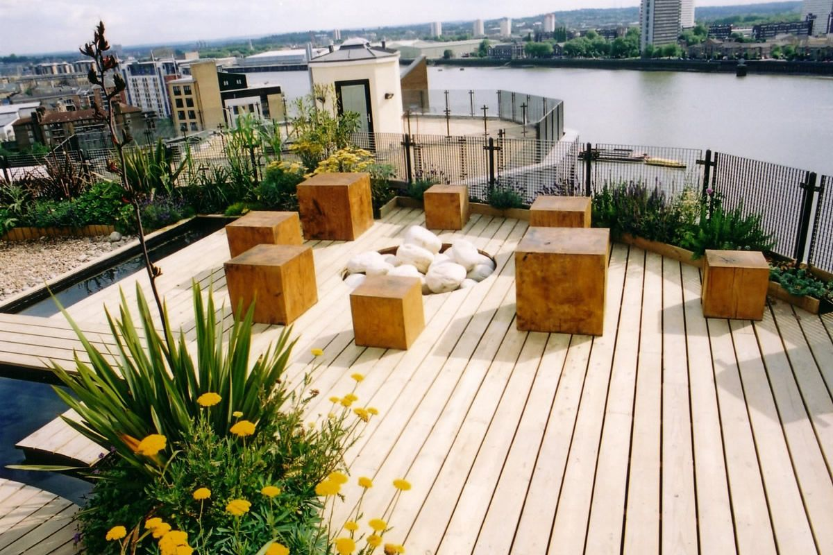 Roof Terrace Design And Style - http://www.interior-design-