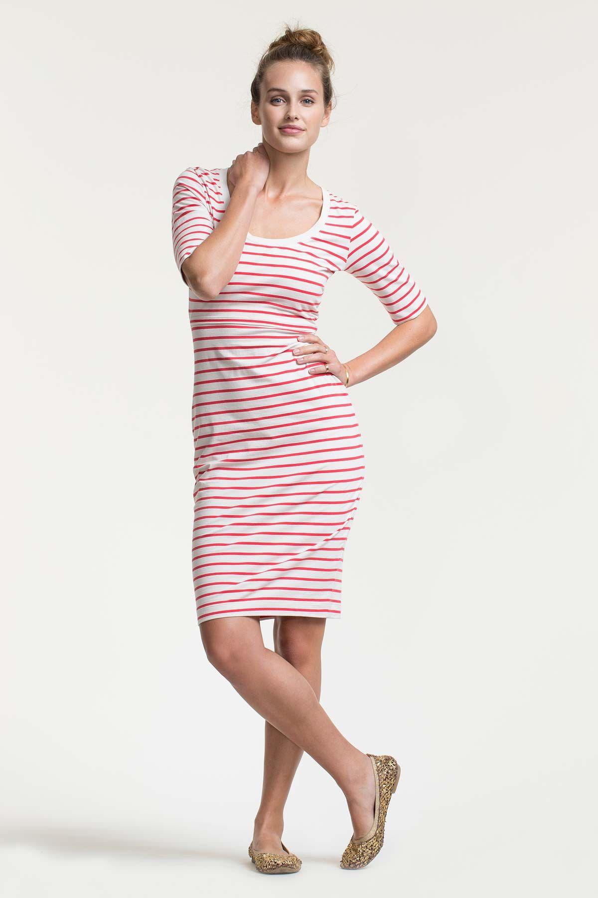 7b7909cb54 Boob Design Simone Short Sleeved Nursing Dress
