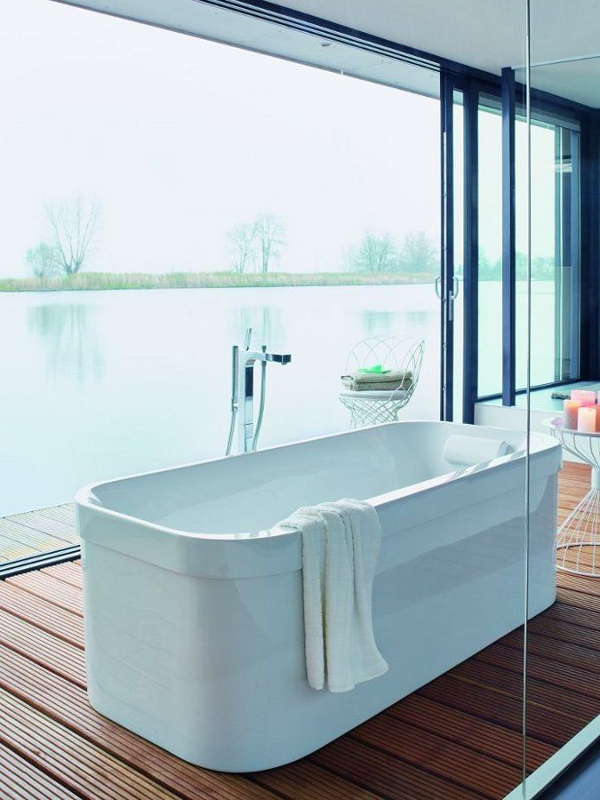 Whirlpool bathtub HAPPY D.2 by @Duravit AG AG AG Italia | #design ...