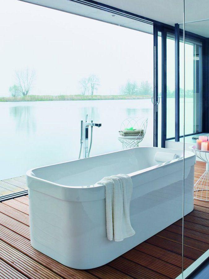 Whirlpool bathtub HAPPY D2 by @Duravit AG AG AG AG AG Italia - happy d badezimmer