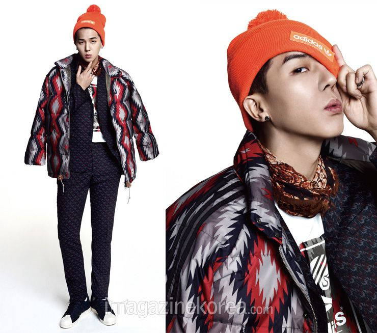 Song Min Ho Winner - Harper's Bazaar Magazine November Issue '14