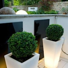 Illuminated Planters: modern Garden by Earth Designs