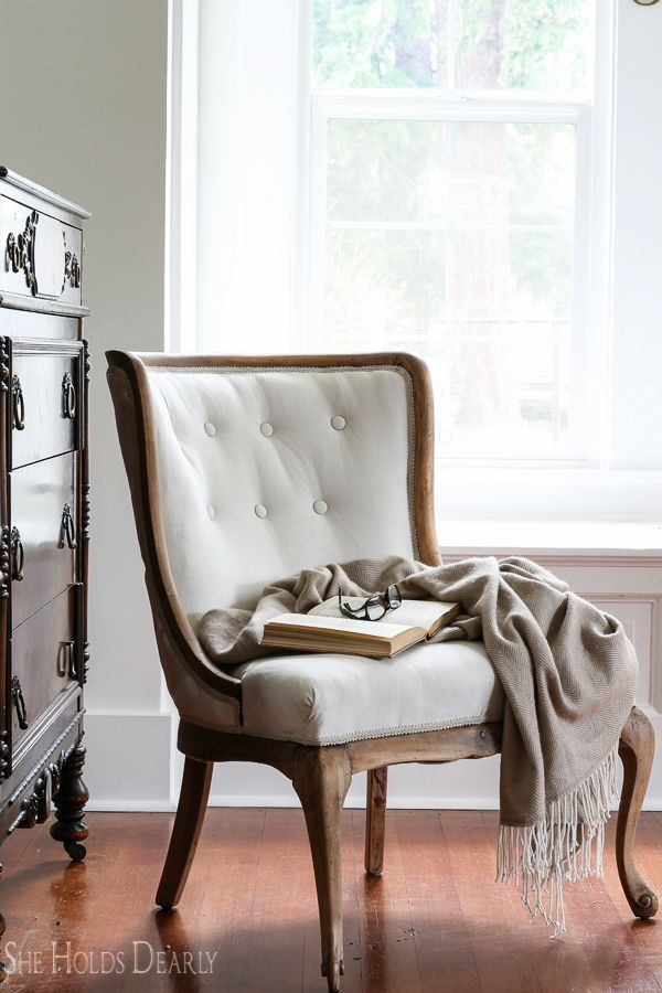 Diy How To Reupholster An Antique Chair Start Finish Including Tufting