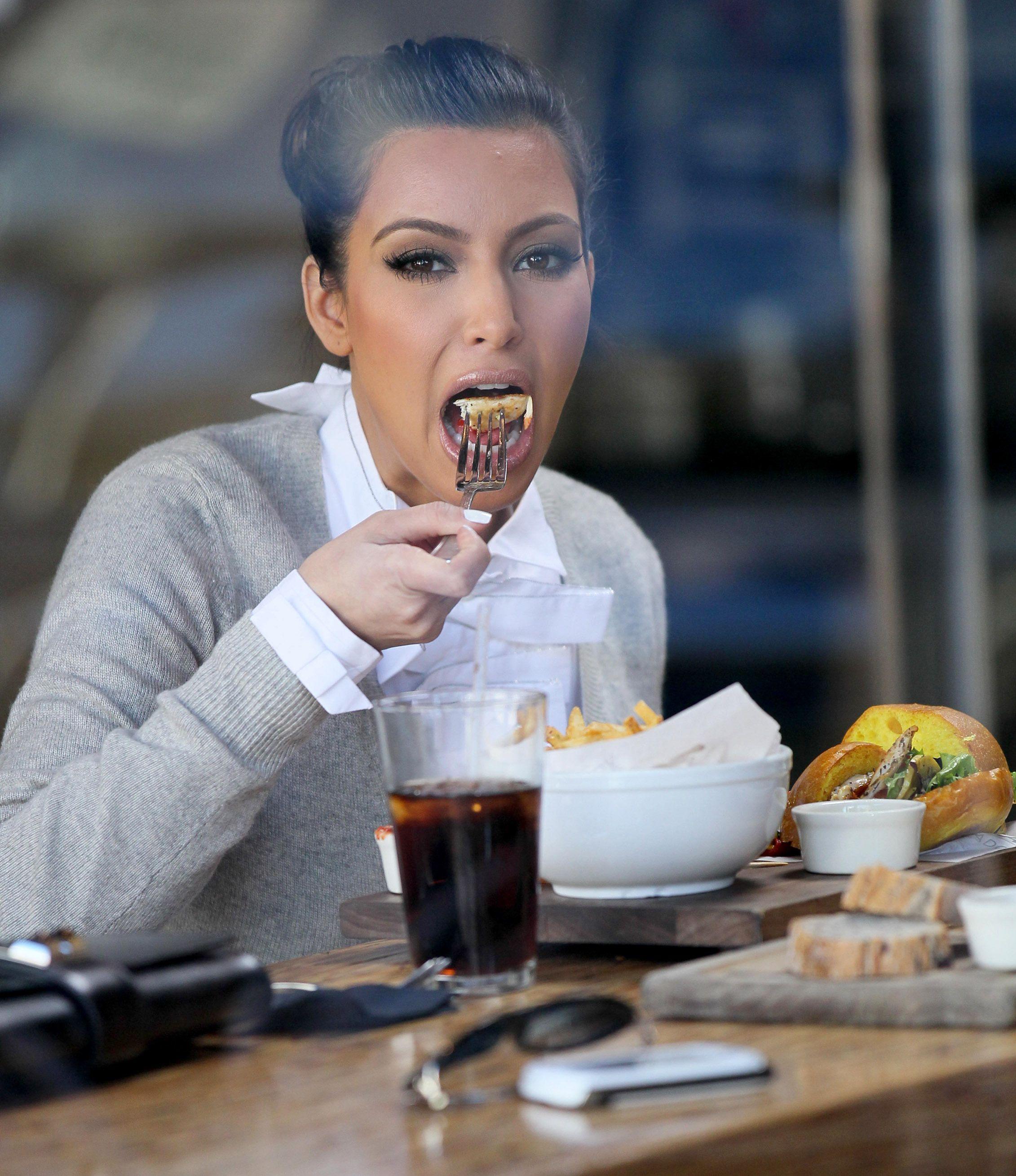 19 celebrities eating junk food pressroomvip