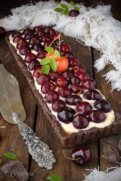 La cocina de Frabisa: Tartaleta de Cerezas y Chocolate. Receta