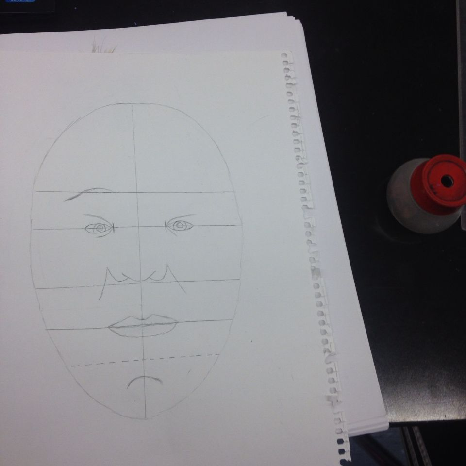 Face drawing #2