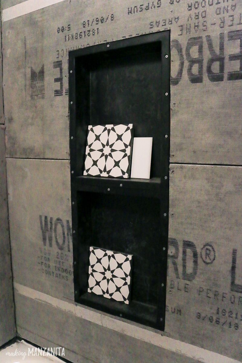 Shower Tile Installation Tips Tricks Shower Niche Tile Shower Niche Tile Installation
