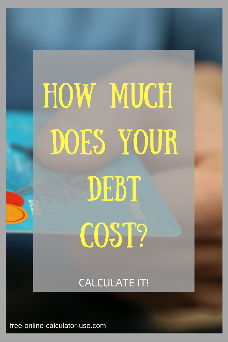 Pin On Debt Calculators