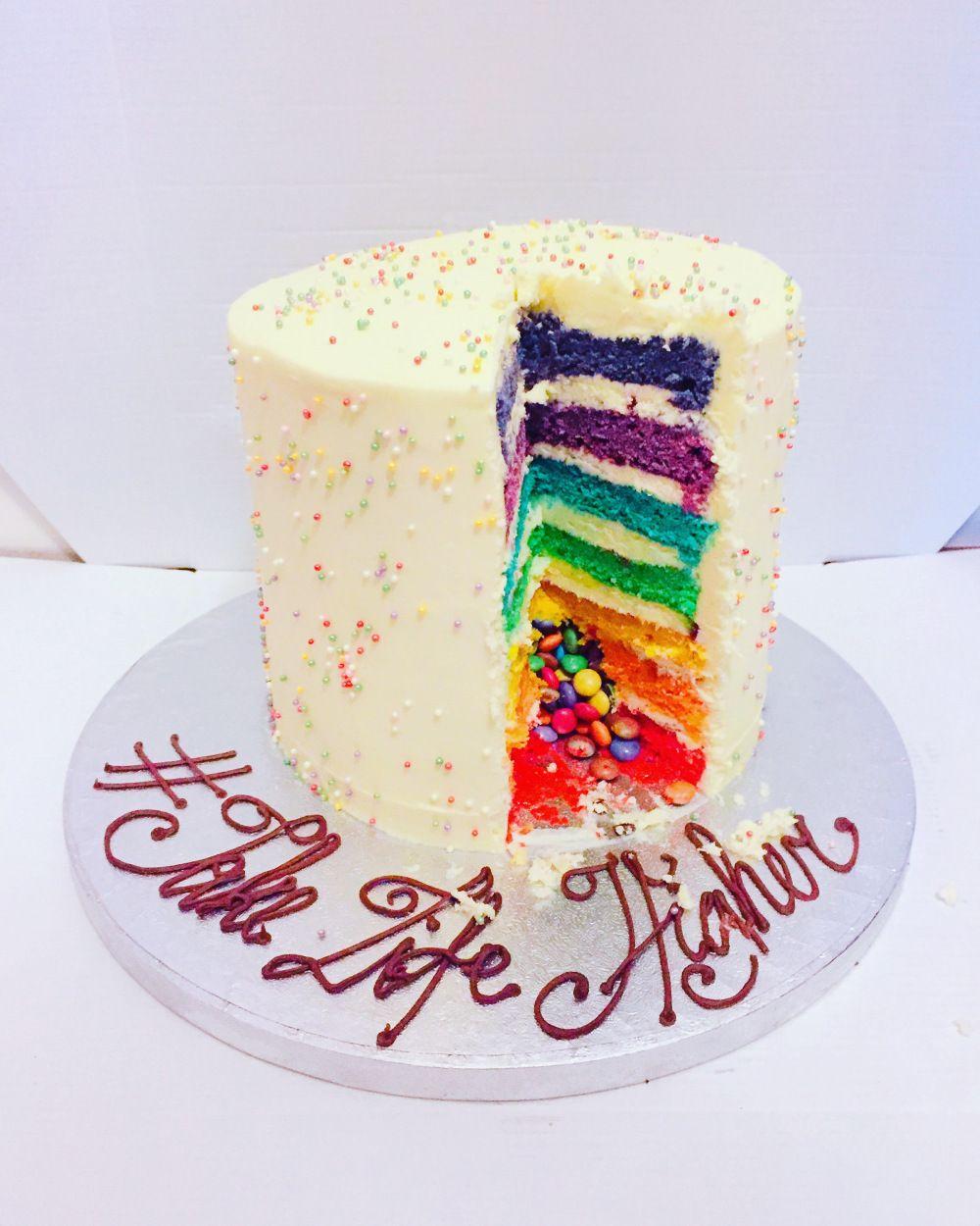 Lolas Cupcakes Vanilla Rainbow Cake