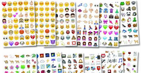 Copy and paste a symbol code beneath the emoticon's image