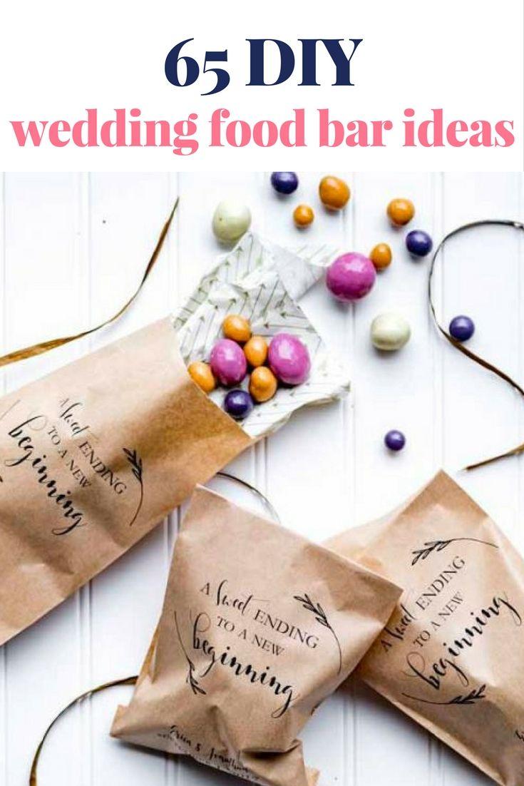 My Wedding Chat: 65 DIY Wedding Food Bar Ideas   backyard wedding ...