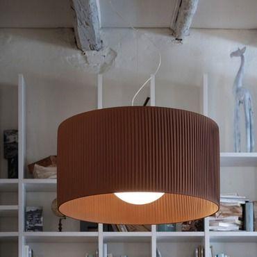 Fog Plisse Pendant by Morosini - Medialight | 0210SO08MKIN #modernrusticdecor