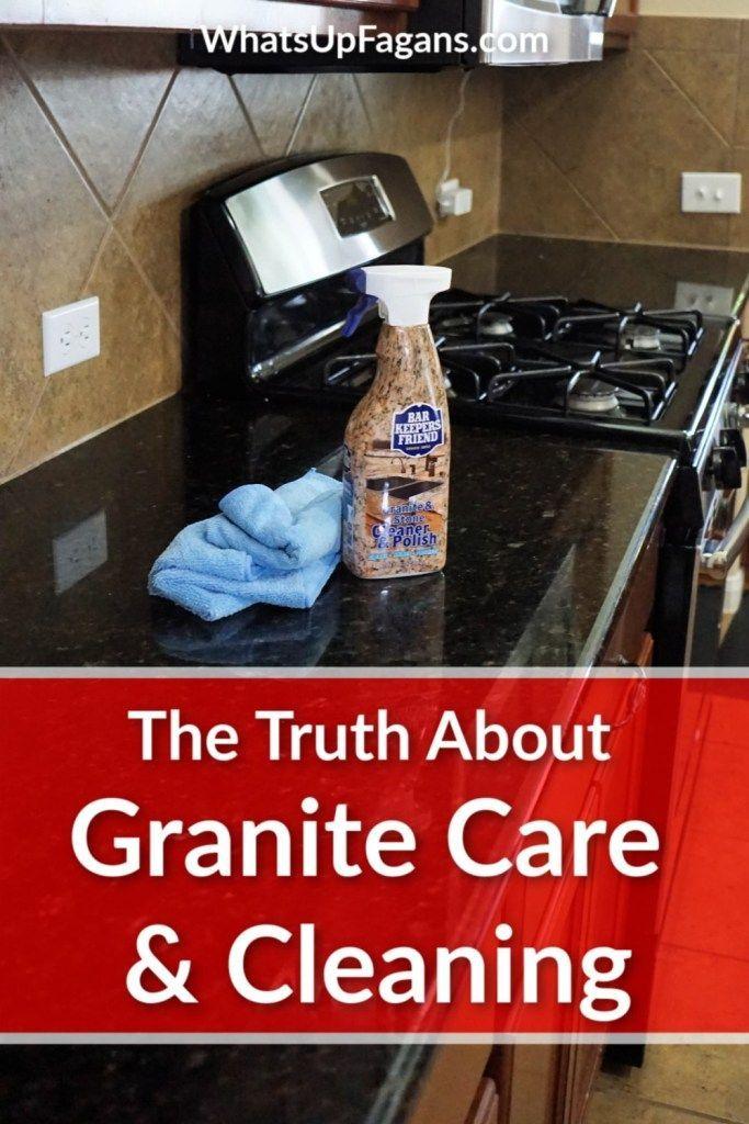 The Secret To Streak Free Cleaner Granite Countertops How To