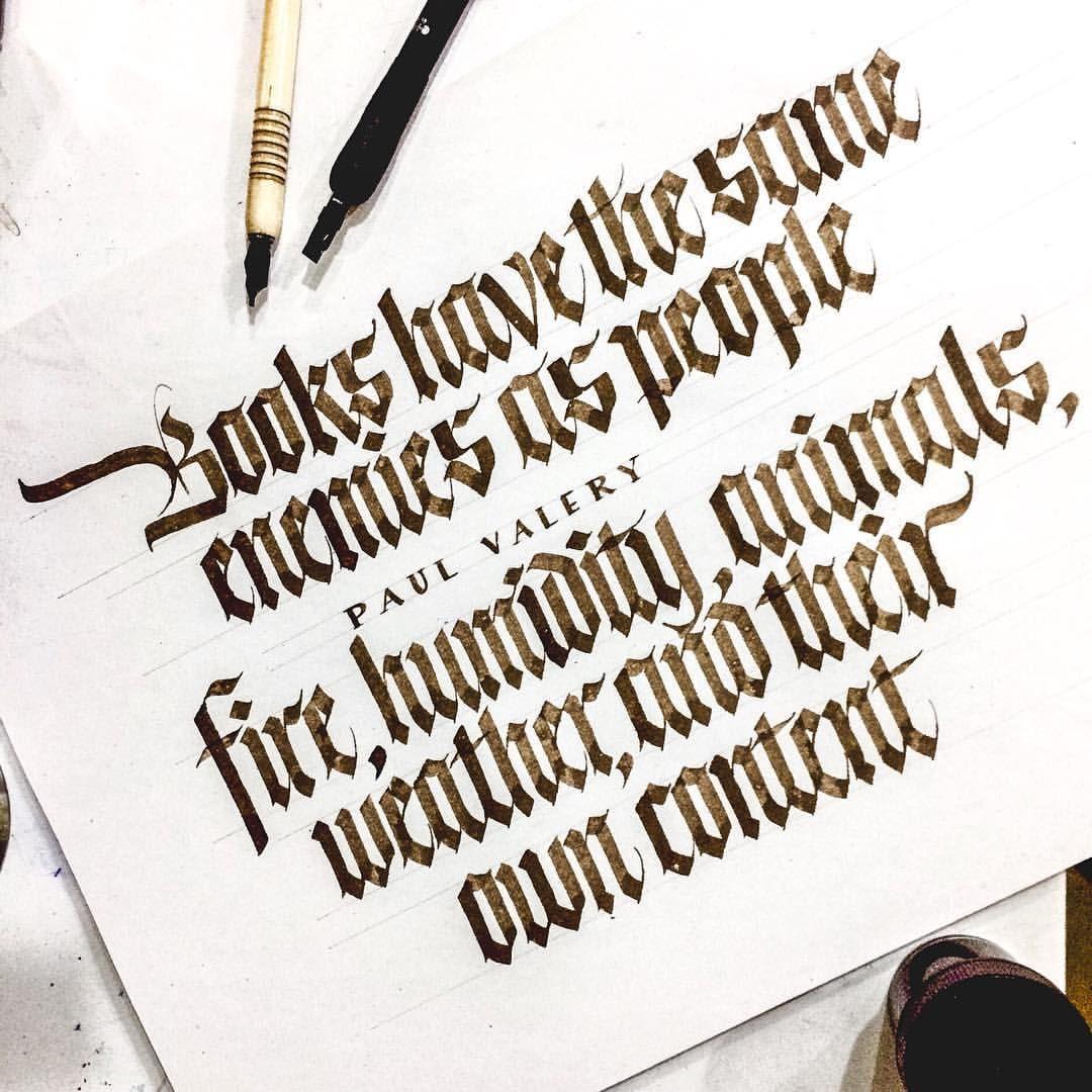 I Love My Books Sachinspiration Calligraphy