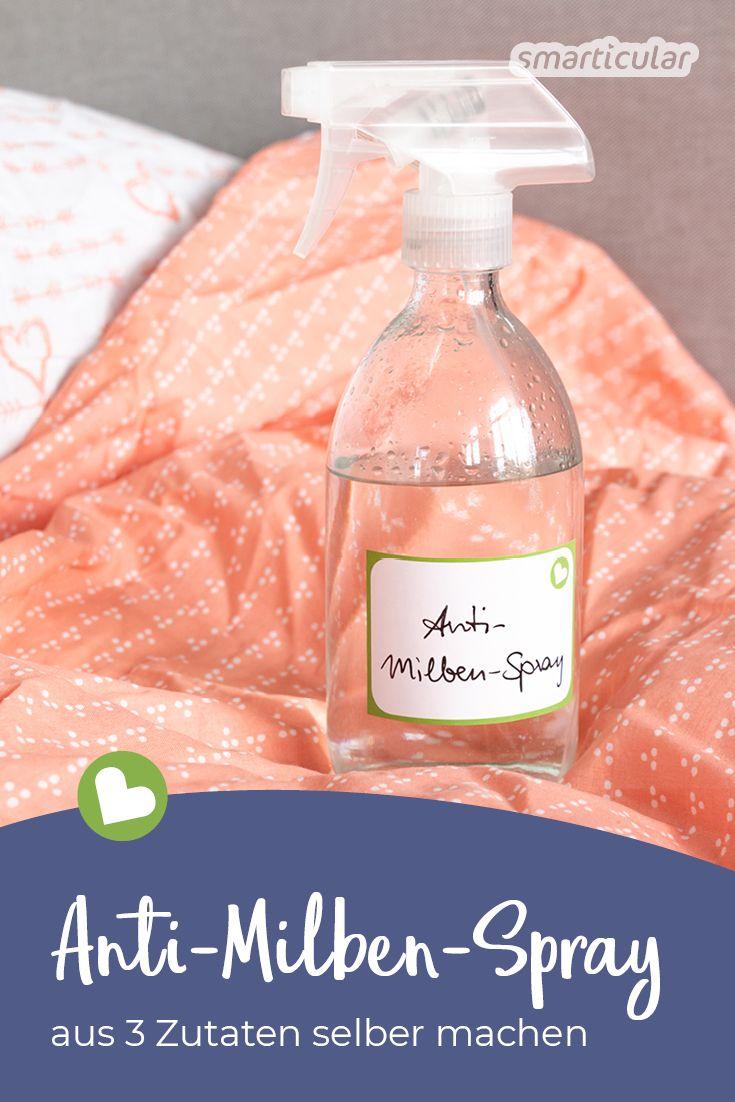 Anti Milben Spray Selber Machen Einfaches Rezept Mit Teebaumol
