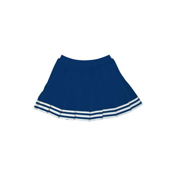 In Stock Elastic Waist Pleated Cheer Skirt (425 MXN) ❤ liked on Polyvore featuring skirts, bottoms, elastic waistband skirt, elastic waist skirt, blue skirt, blue pleated skirt and knee length pleated skirt