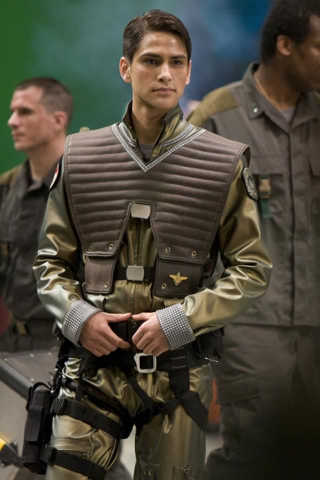 Bsg Blood And Chrome William Adama Luke Pasqualino