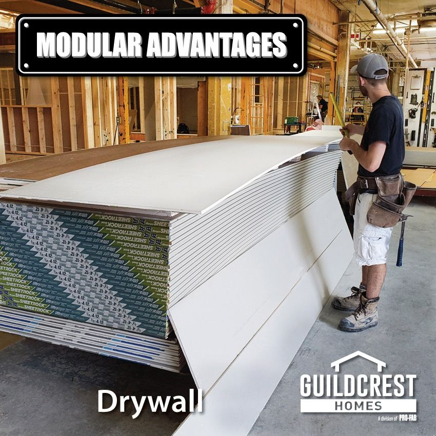 All Of Our Drywall Is Installed Using 12 And 14 Foot Sheets This Means Fewer Joints And Smoother Walls In Your Home Home Builders Home Finding A House