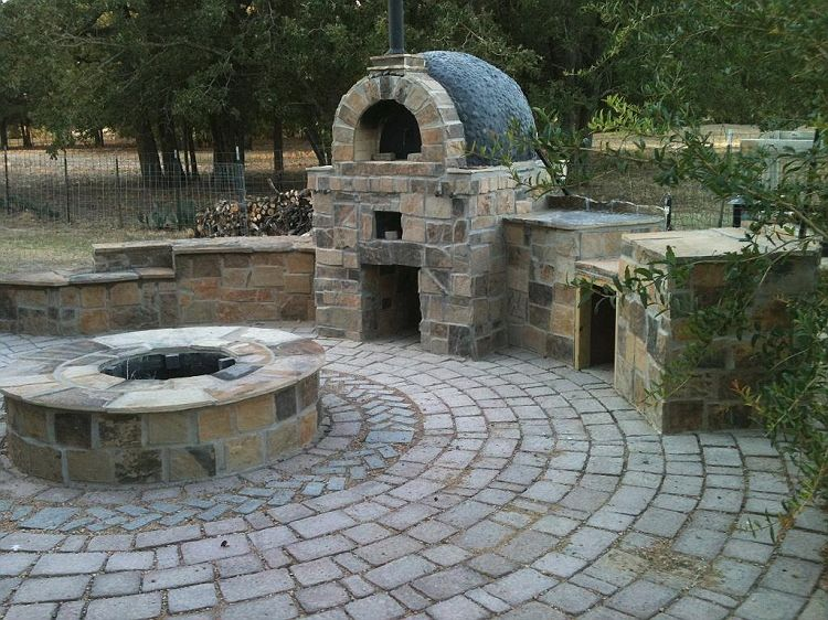 Combination Fire Pit And Pizza Oven Fire Pit Bbq Fire Pit