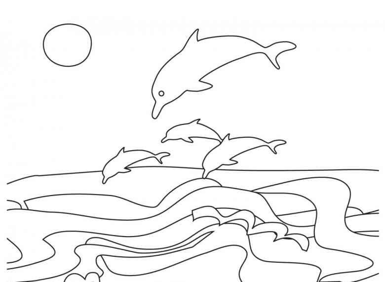 Delfine 25 Ausmalbilder | N&G&R&Etc | Pinterest | Ausmalbilder