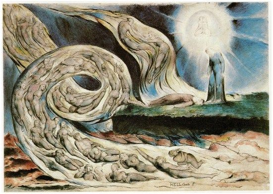 William Blake's Breathtaking Drawings for Dante's Divine Comedy, Over Which He Labored Until His Dying Day – Brain Pickings