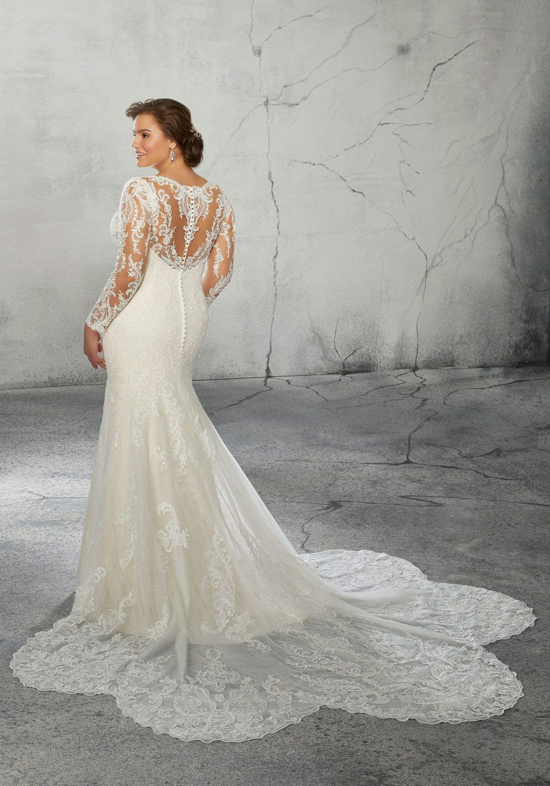 Ripley Plus Size Wedding Dress Morilee Plus Size Wedding Gowns Fit Flare Wedding Dress Bridal Wedding Dresses