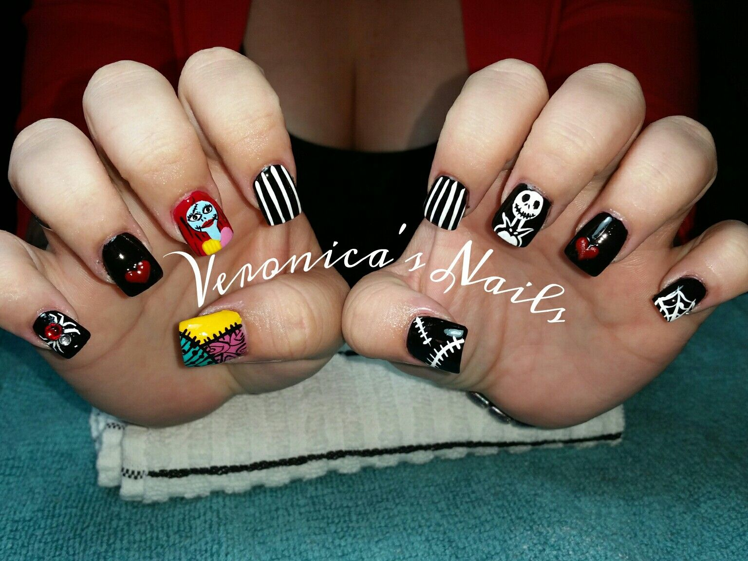 Pin by Veronica Villarreal on @nailedbyvee | Pinterest | Disney ...