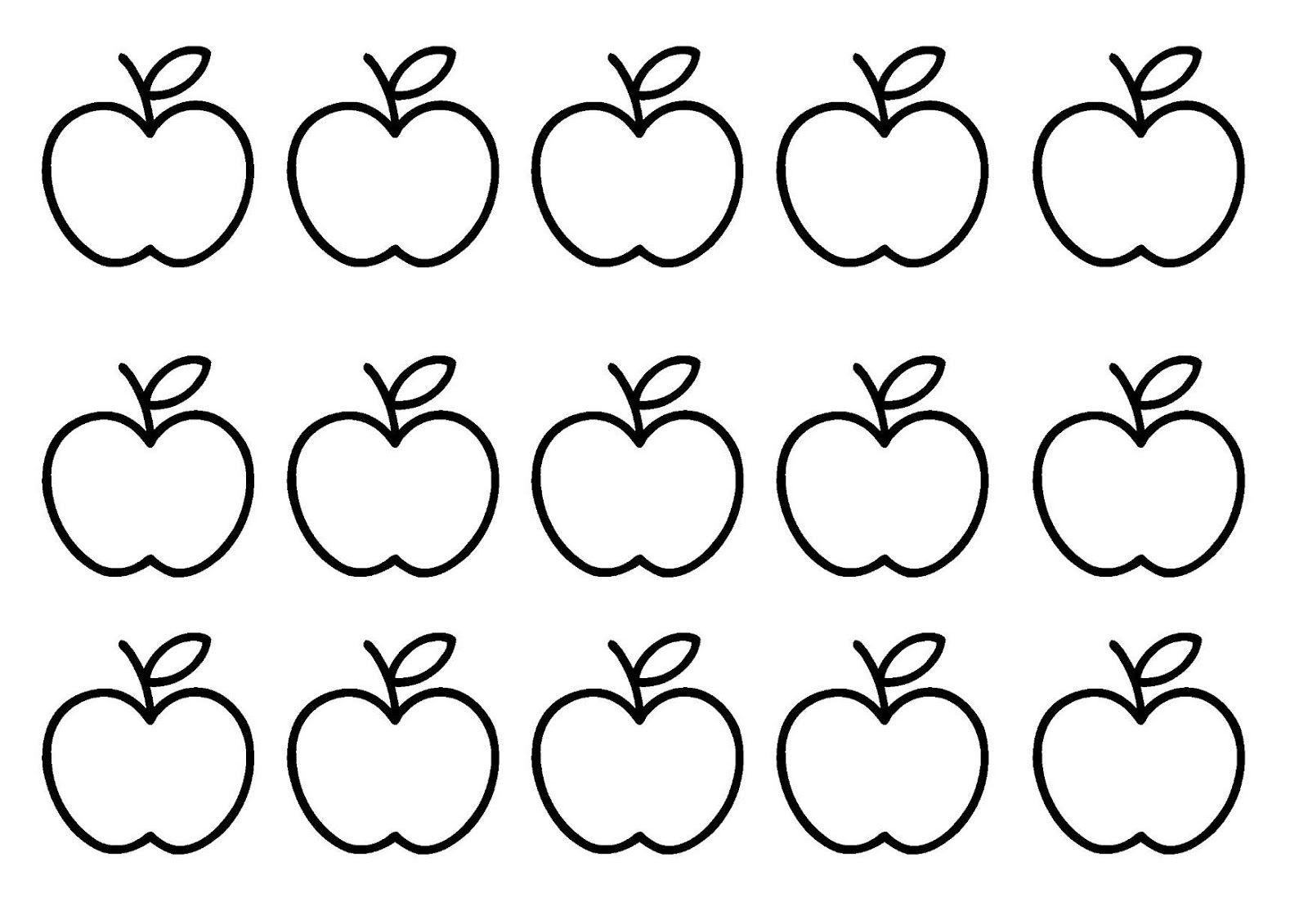 Peuterthema's Mmm... lekker fruit! appels en peren
