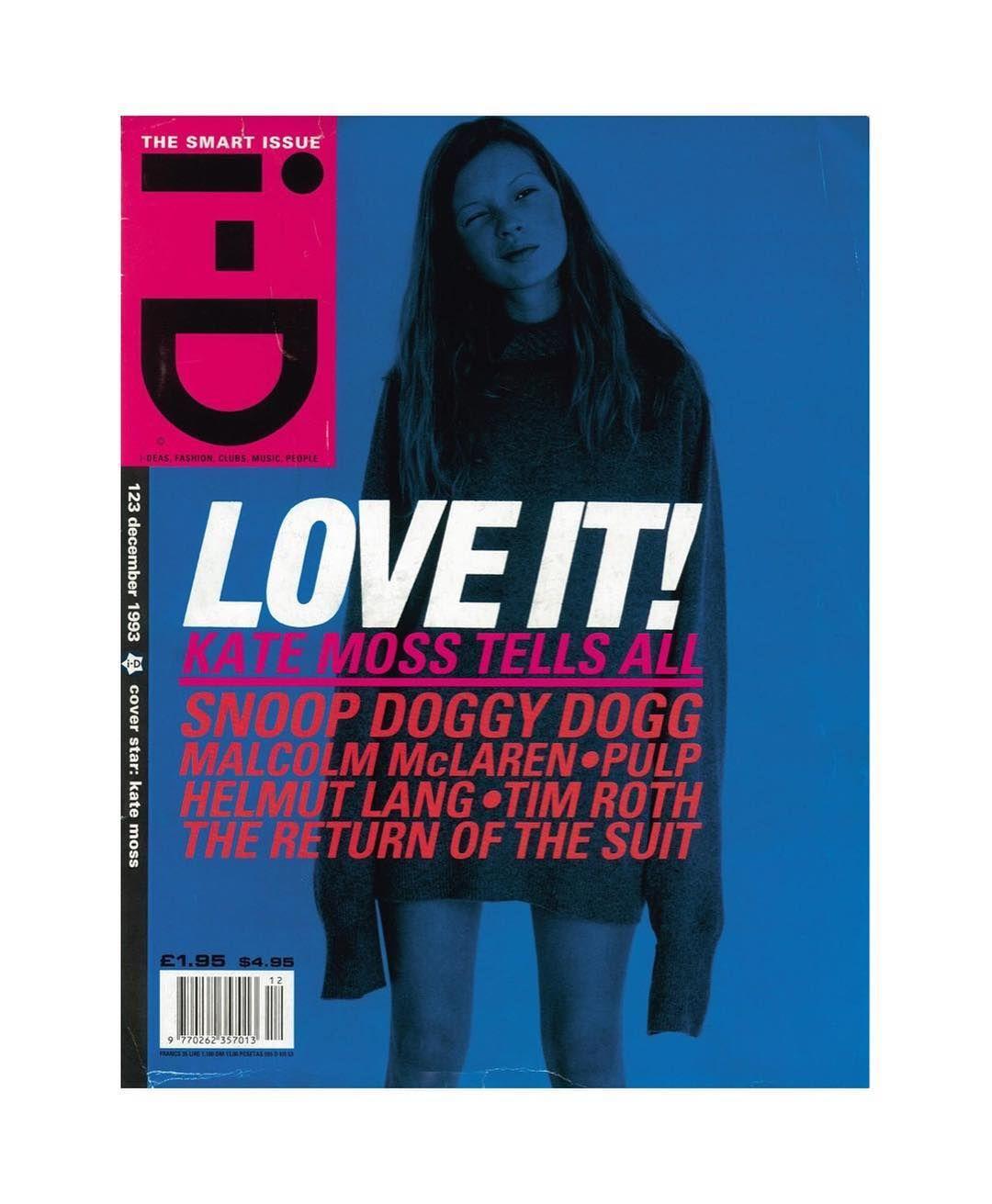 Flavio Tarquini On Instagram I D 1997 Idmagazine Style Inspiration Magazine Today Katemoss Artdir Kate Moss Id Magazine Magazine Front Cover
