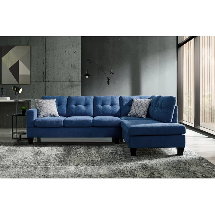 Tillson 98 Right Hand Facing Sectional Sectional Sofa Couch Chaise Sofa Sofas For Small Spaces