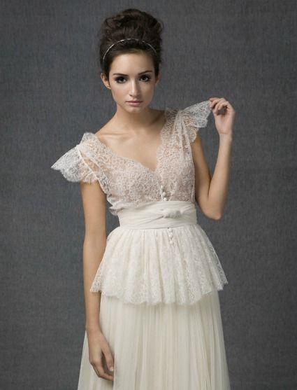 novias tipos de mangas - mariposa | boda | vestidos de novia