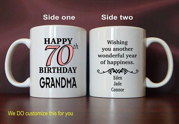 70th Birthday Gift For Grandma