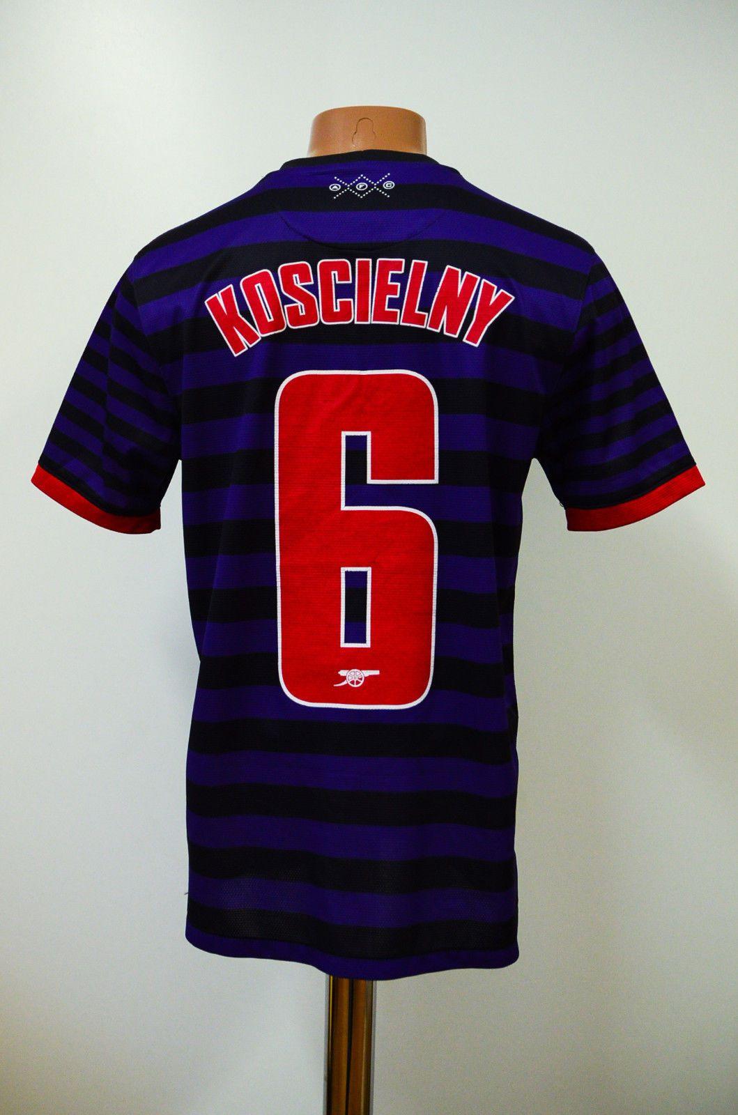 arsenal london 20122013 away football shirt jersey maglia nike koscielny