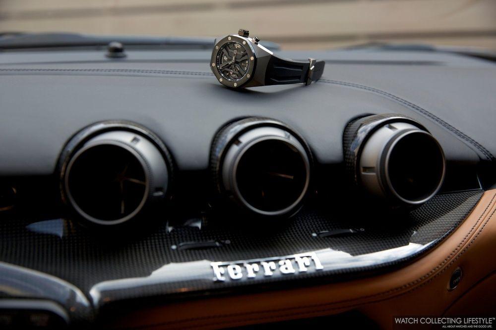 Insider: Audemars Piguet Royal Oak Concept GMT Tourbillon Titanium. Up to Par and Almost as Pricey as a Ferrari F12 Berlinetta. — WATCH COLLECTING LIFESTYLE