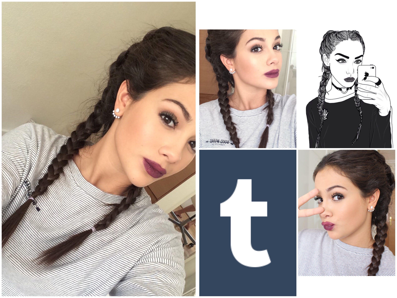 tumblr hair tutorial wwwpixsharkcom images galleries